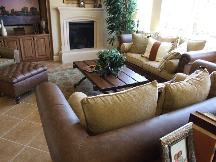 Trendy v obývacích stěnách