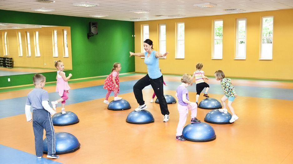 Baby aerobik, radost dětí i dospělých