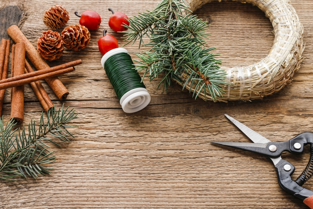 4 vánoční dekorace, které zvládnete vyrobit doma