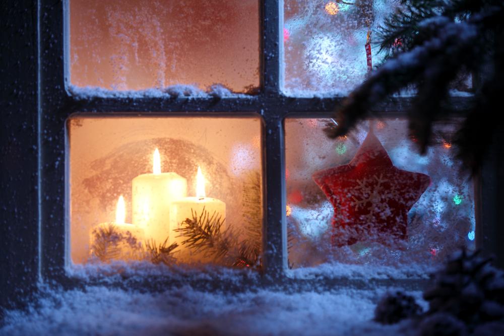 Trendy ve vánoční výzdobě interiéru